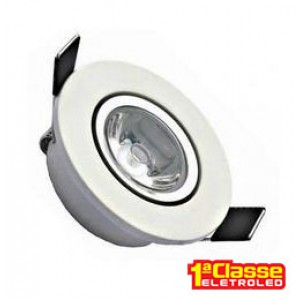 SPOT LED EMB. RED.3W  67x35 BF ANDELI - AL