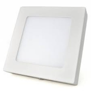 LUMINARIA LED DOWNLIGHT-SLIM QUADRADA 3000K 12W BIV.