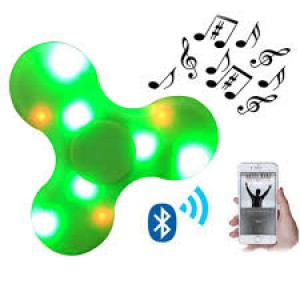 HAND SPINNER C/ BLUETOOTH E LED COLORS