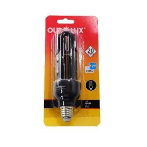 Lâmpada Luz Negra Eletrônica 20W OUROLUX