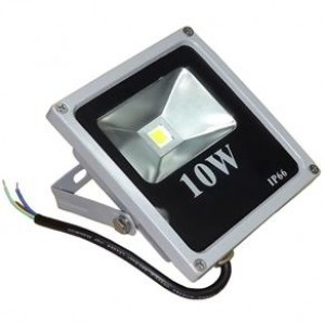 REFLETOR DE LED RS-10W IP66 CINZA